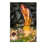 Fairies / Pekingese(r&w) Postcards (Package of 8)