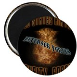 "Security Forces Flame Badge 2.25"" Magnet (100 pack"