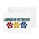 Labrador Retriever Mom 1 Greeting Card