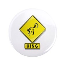 "Lemur XING 3.5"" Button (100 pack)"
