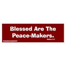Peace Makers Bumper Bumper Sticker