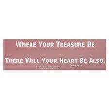 Treasure #3 Bumper Bumper Sticker