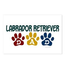 Labrador Retriever Dad 1 Postcards (Package of 8)