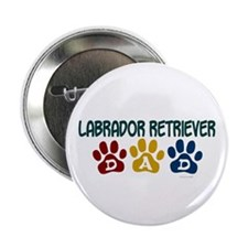 "Labrador Retriever Dad 1 2.25"" Button"
