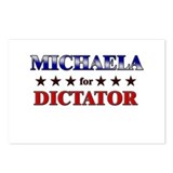 MICHAELA for dictator Postcards (Package of 8)