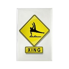 Gymnast XING Rectangle Magnet (100 pack)