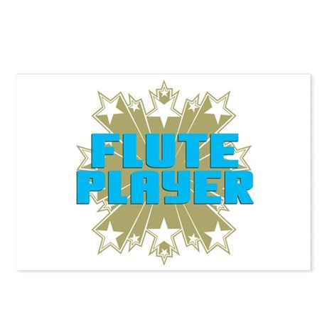 Star Flute Player Postcards (Package of 8)