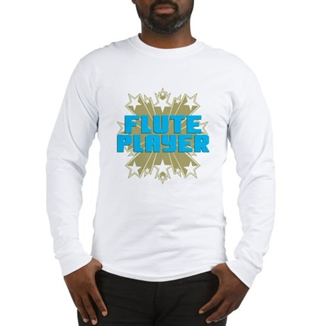 Star Flute Player Long Sleeve T-Shirt