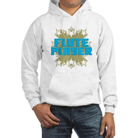 Star Flute Player Hooded Sweatshirt