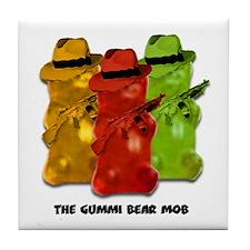Gummi Bear Mob Tile Coaster