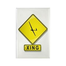 Glider XING Rectangle Magnet
