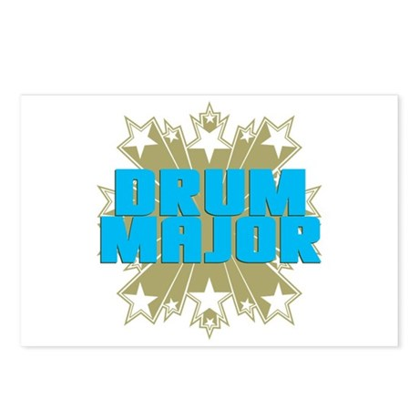 Star Drum Major Postcards (Package of 8)