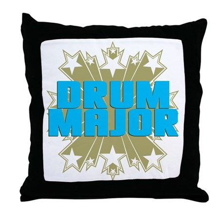 Star Drum Major Throw Pillow