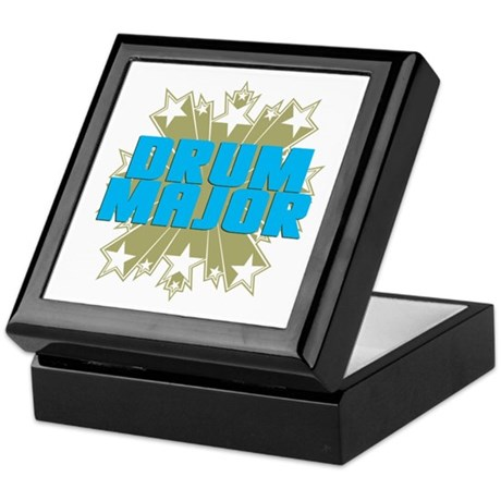 Star Drum Major Keepsake Box