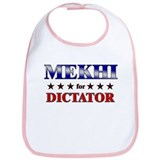 MEKHI for dictator Bib