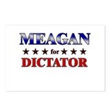 MEAGAN for dictator Postcards (Package of 8)