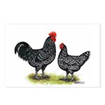 Java Rooster and Hen Postcards (Package of 8)