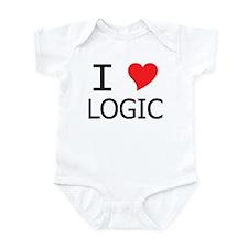 I Heart Logic Infant Bodysuit