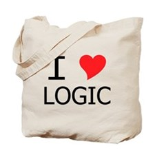 I Heart Logic Tote Bag