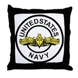 Surface Warfare Officer <BR>Throw Pillow