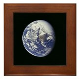 Framed Blue Marble Tile