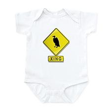Buzzard XING Infant Bodysuit