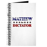 MATHEW for dictator Journal