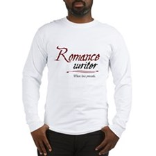 Romance Writer-Where Love Pre Long Sleeve T-Shirt