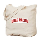 Drag Racing (red curve) Tote Bag