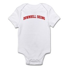 Downhill Skiing (red curve) Infant Bodysuit