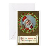 Old English Krismas Cards (Pk of 10)