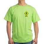 Bull Rider XING Green T-Shirt
