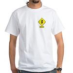 Bull Rider XING White T-Shirt