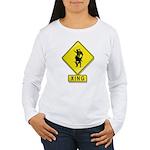 Bull Rider XING Women's Long Sleeve T-Shirt