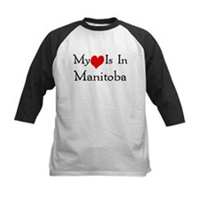 My Heart Is In Manitoba Tee