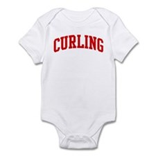 Curling (red curve) Infant Bodysuit