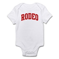 Rodeo (red curve) Infant Bodysuit