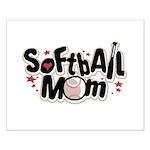SOFTBALL MOM Small Poster