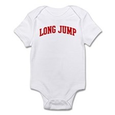 Long Jump (red curve) Infant Bodysuit