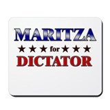 MARITZA for dictator Mousepad