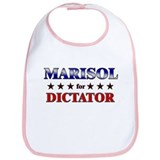 MARISOL for dictator Bib