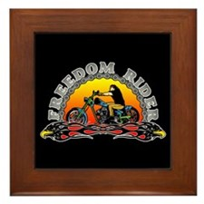 Freedom Rider Framed Tile