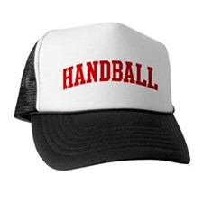 Handball (red curve) Trucker Hat