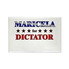 MARICELA for dictator Rectangle Magnet