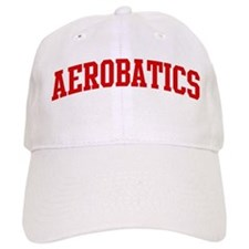 Aerobatics (red curve) Baseball Cap