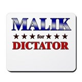 MALIK for dictator Mousepad