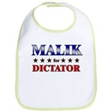 MALIK for dictator Bib