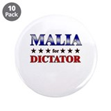 "MALIA for dictator 3.5"" Button (10 pack)"