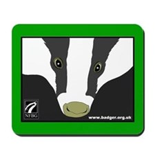 Badger Watch Mousepad