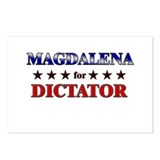 MAGDALENA for dictator Postcards (Package of 8)